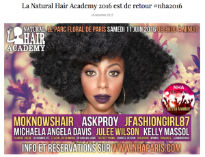 nia natural hair academy 2016 blogger cheveux afro jesuismodeste