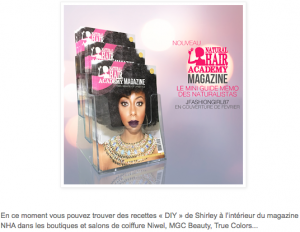 nha magasine natural hair academy bio naturel green jesuismodeste do it yourself atelier magazine recettes