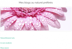 bonheur au naturel parution jesuismodeste blog