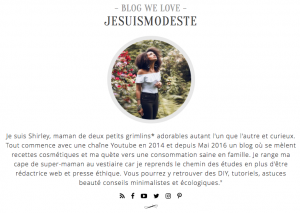 BLOG WE LOVE INTO THE CHIC jesuismodeste presse
