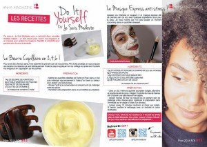 do it yourself beurre corporel visage cheveux masque apaisant rougeur cheveux