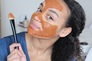 jesuismodeste blog youtube diy recette visage peau irrité sensible réactive rougeurs acné nha mag natural hair academy métisse anti imperfection