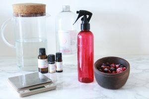 Recette spray hydratant tous types de cheveux jesuismodeste blog fraise aroma zone glycérine