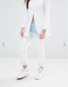 jeans taille haute maman jesuismodeste ados sélection noel cadeau délavé